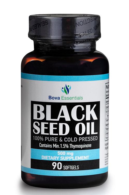 Black Seed Oil Capsule - Halal - Organic Oil