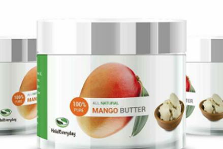 Premium Raw Mango Butter 100% Pure 8 oz. (HDPE Foo