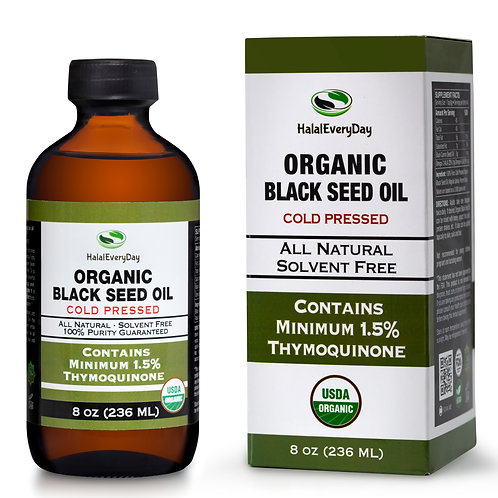 Organic Cold Pressed Black Seed Oil