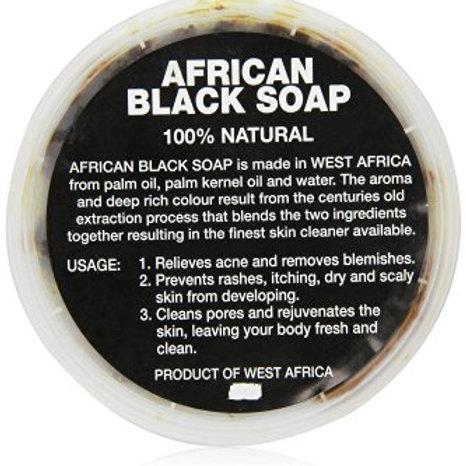 100% Pure African Black Liqiud Soap 8 oz