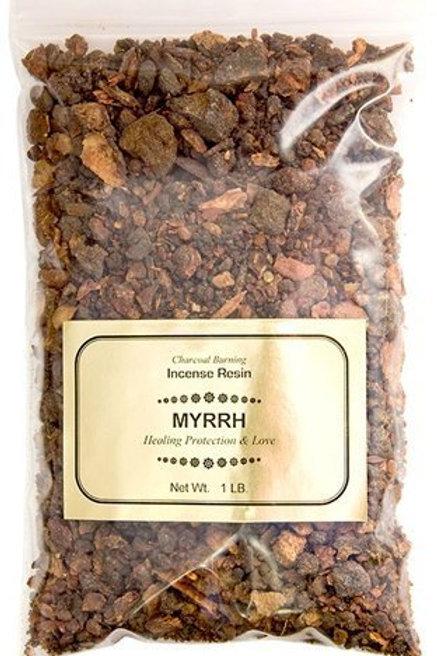 Myrrh Resin Incense, 1 lb