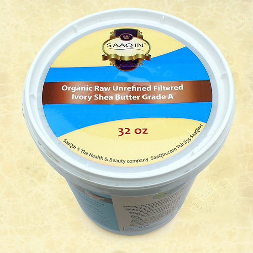 Authentic Organic IVORY Shea Butter FILTERED & CRE