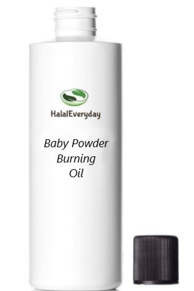 Baby Powder Burning Oil 16 Oz.