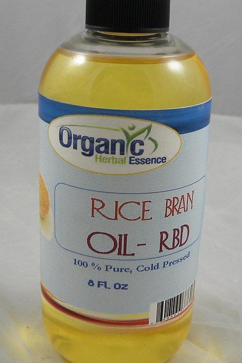 Rice Bran Oil - RBD - 100% Pure 8 Oz