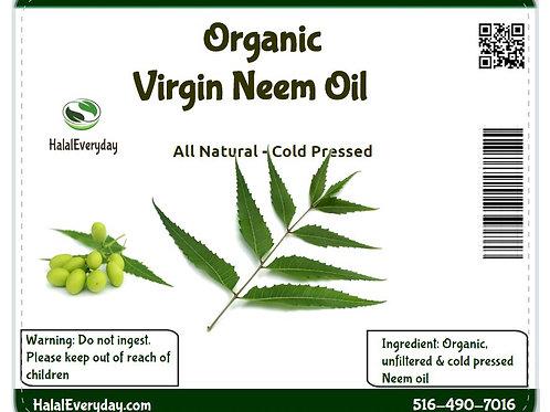 Neem oil pure cold pressed - Organic - Virgin 1lb