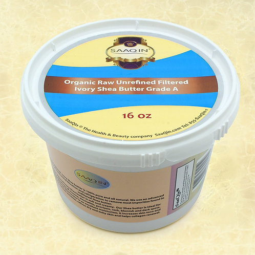 Organic IVORY Shea Butter Filtered, Creamy 16 oz