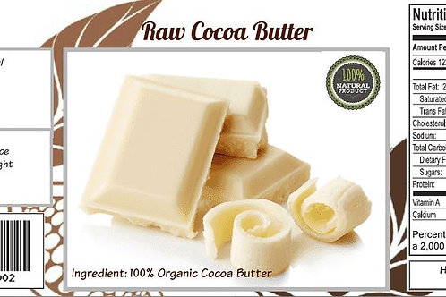 Pure and Raw Cocoa Butter 1lb