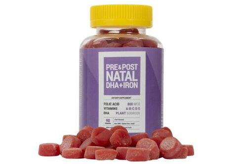 NoorVitamins Prenatal DHA + IRON Gummy Vitamin