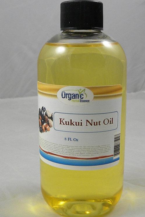 Kukui Nut Oil - 100% Pure - 8 Oz