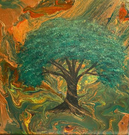 Metalic Tree of Life
