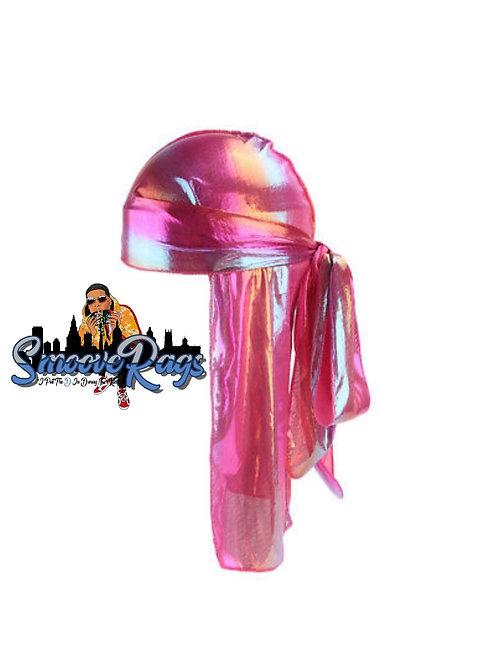 Hot Pink Hologram Rag