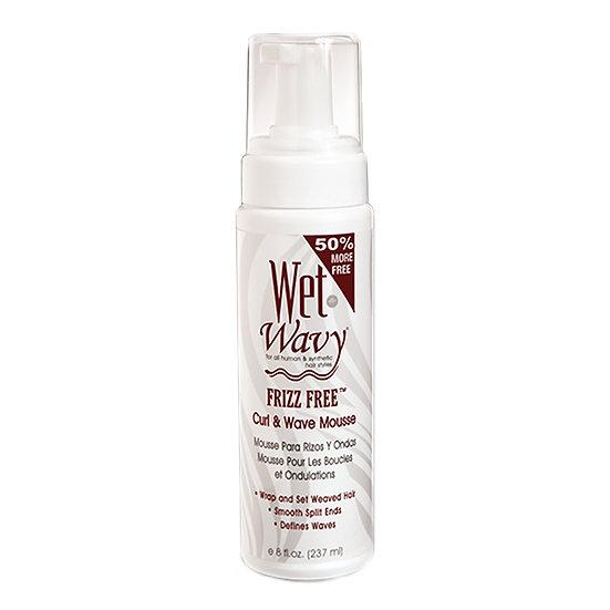 Wet n wavy frizz free mousse 8oz