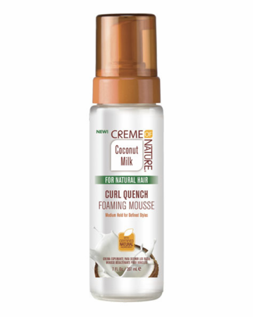 Creme of nature coconut milk for natural hair mousse 7oz