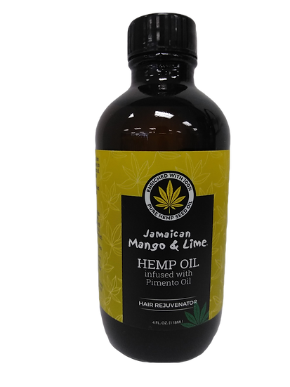 Jamaican Mango Lime Hemp Oil infused with pimento oil