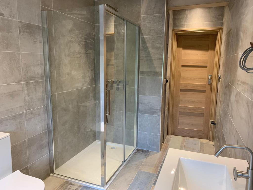 High spec. bathrooms