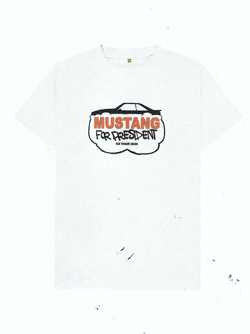 MUSTANG FOR PRESIDENT TOUR TEE