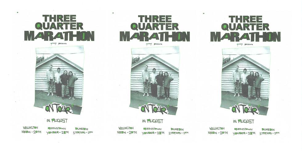 Three Quarter Marathon - Dunedin