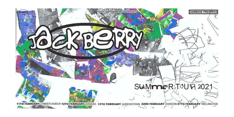 jack berry - SUMMER TOUR 2021 (Christchurch)