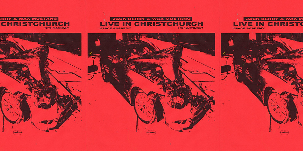 Jack Berry & Wax Mustang - Live in Christchurch