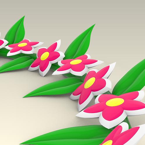 Надувная гирлянда Расцвет