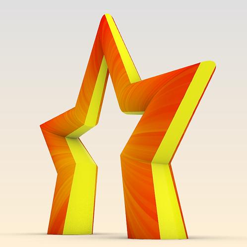 Надувная арка Звезда Победы