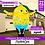 Thumbnail: Надувной зазывала  Лимон
