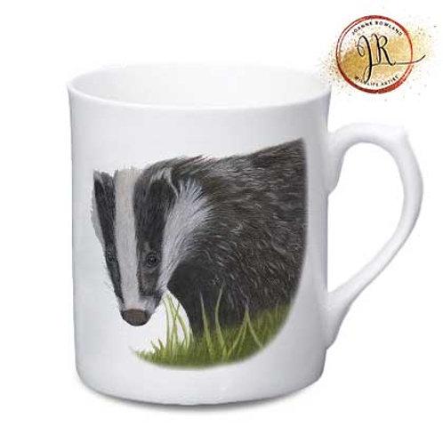 Badger China Mug - Hector the Badger
