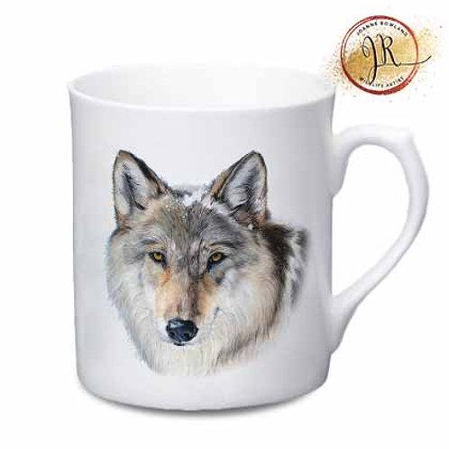 Wolf China Mug - Enigma the Wolf