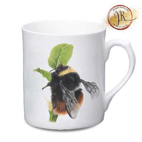 Bee China Mug - Mrs B,the Bilberry Bumble Bee