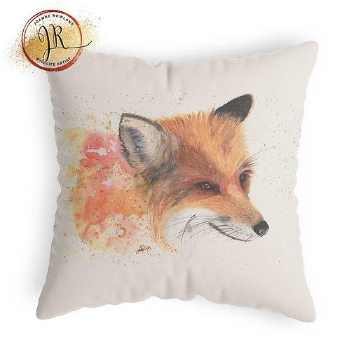 Fox Cushion - Colour Splash Fox
