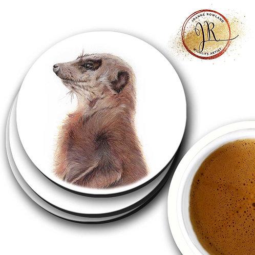 Meerkat Coaster - Monty the Meerkat
