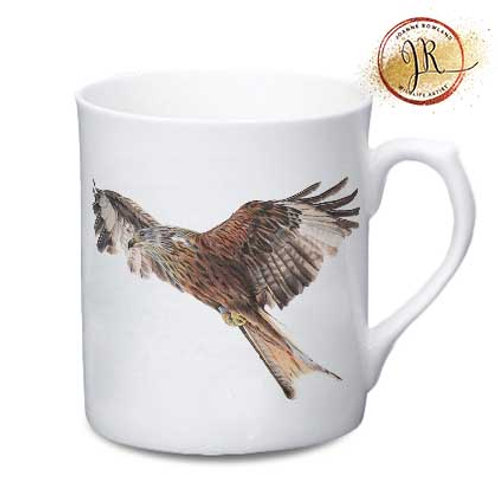 Red Kite China Mug - Rowan the Red Kite