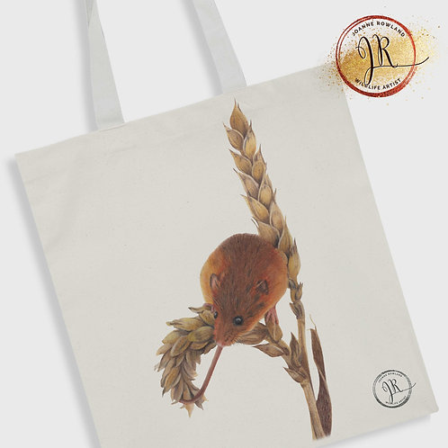 Mouse Tote Bag - Harvey the Harvest Mouse