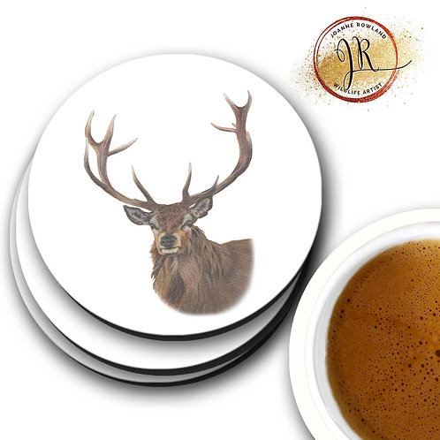 Stag Coaster - Reg the Regal Stag