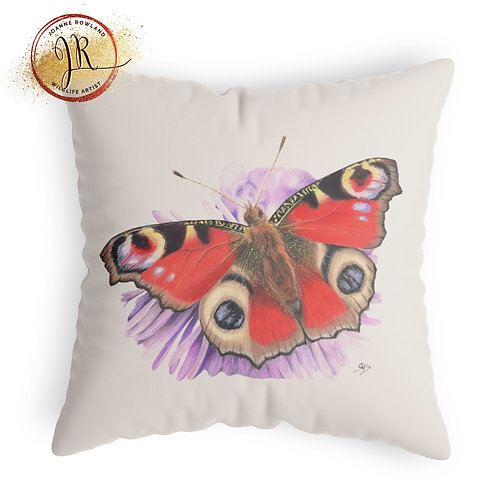 Butterfly Cushion - Bea the Peacock Butterfly