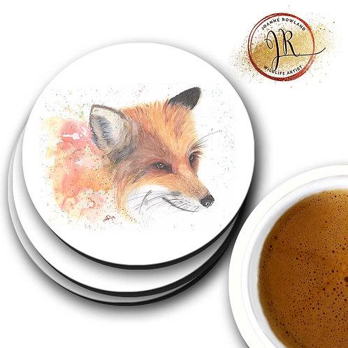 Fox Coaster - Colour Splash Fox