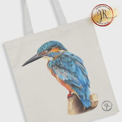 Kingfisher Tote Bag - Kendal the Kingfisher