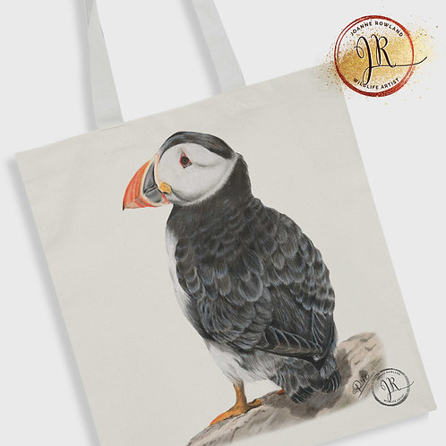 Puffin Tote Bag - Sir Percival the Puffin