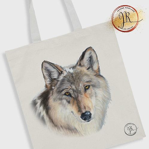 Wolf Tote Bag - Enigma the Wolf