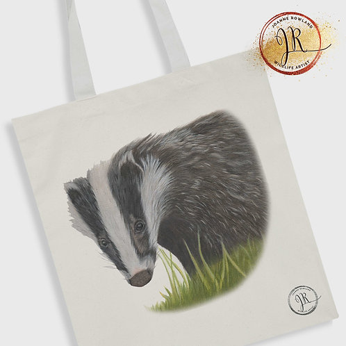 Badger Tote Bag - Hector the Badger