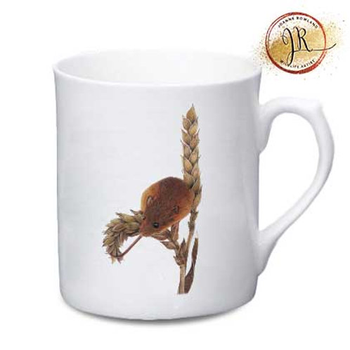 Mouse China Mug - Harvey the Harvest Mouse