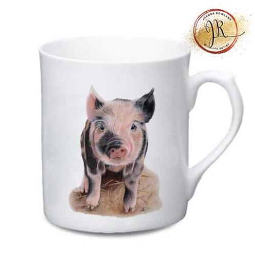 Pig China Mug - Portia the Piglet