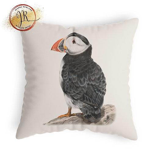 Puffin Cushion - Sir Percival the Puffin
