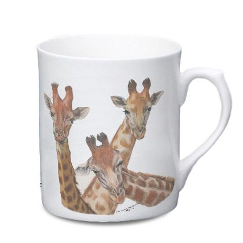 Giraffe China Mug