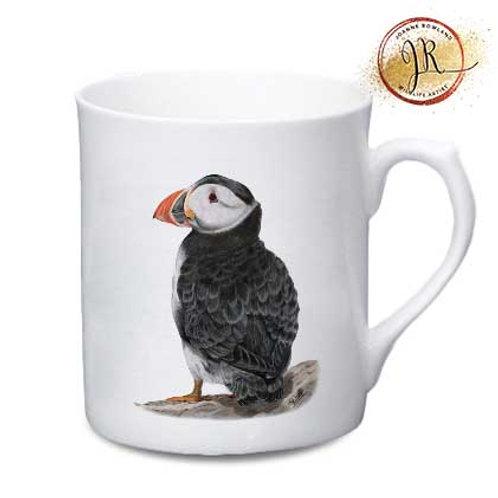 Puffin China Mug - Sir Percival the Puffin