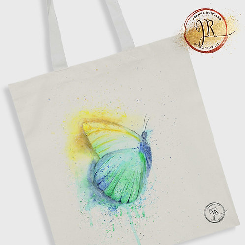 Butterfly Tote Bag - Colour Splash Butterfly