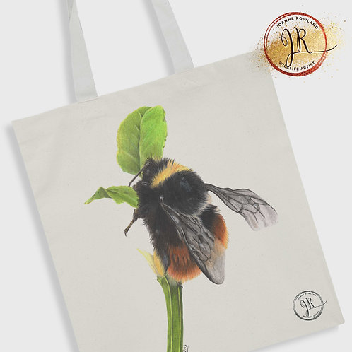 Bee Tote Bag - Mrs B, the Bilberry Bumble Bee
