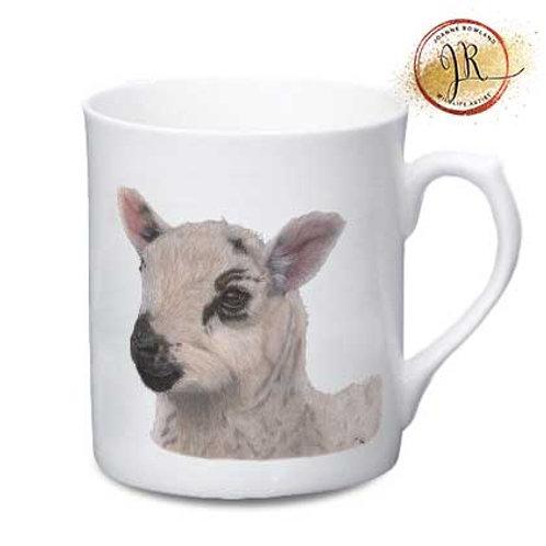 Lamb China Mug - Barbara the Bonnie Lamb