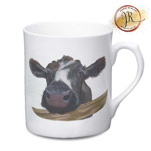 Cow China Mug - Muriel the Curious Calf