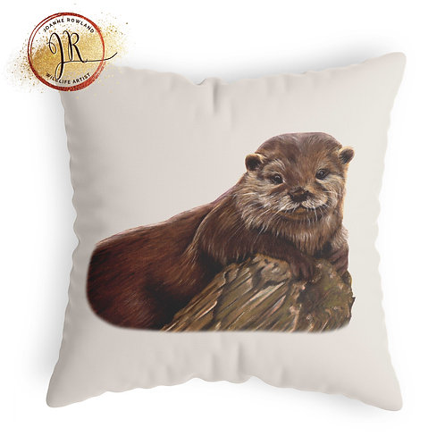 Otter Cushion - Otterley Adorable